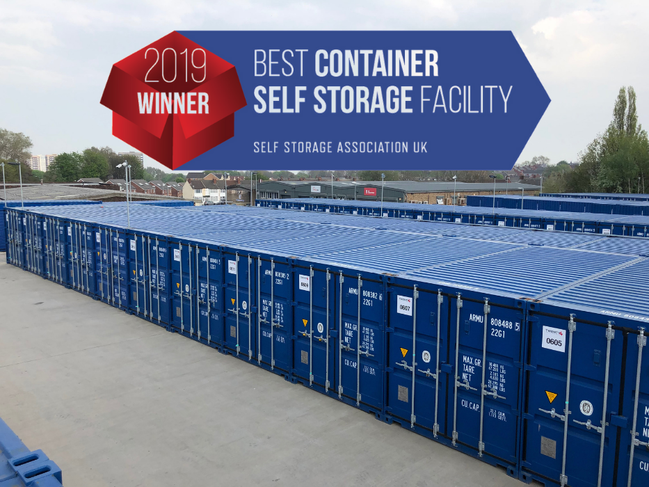 WINNERS! UK CONTAINER FACILITY OF THE YEAR