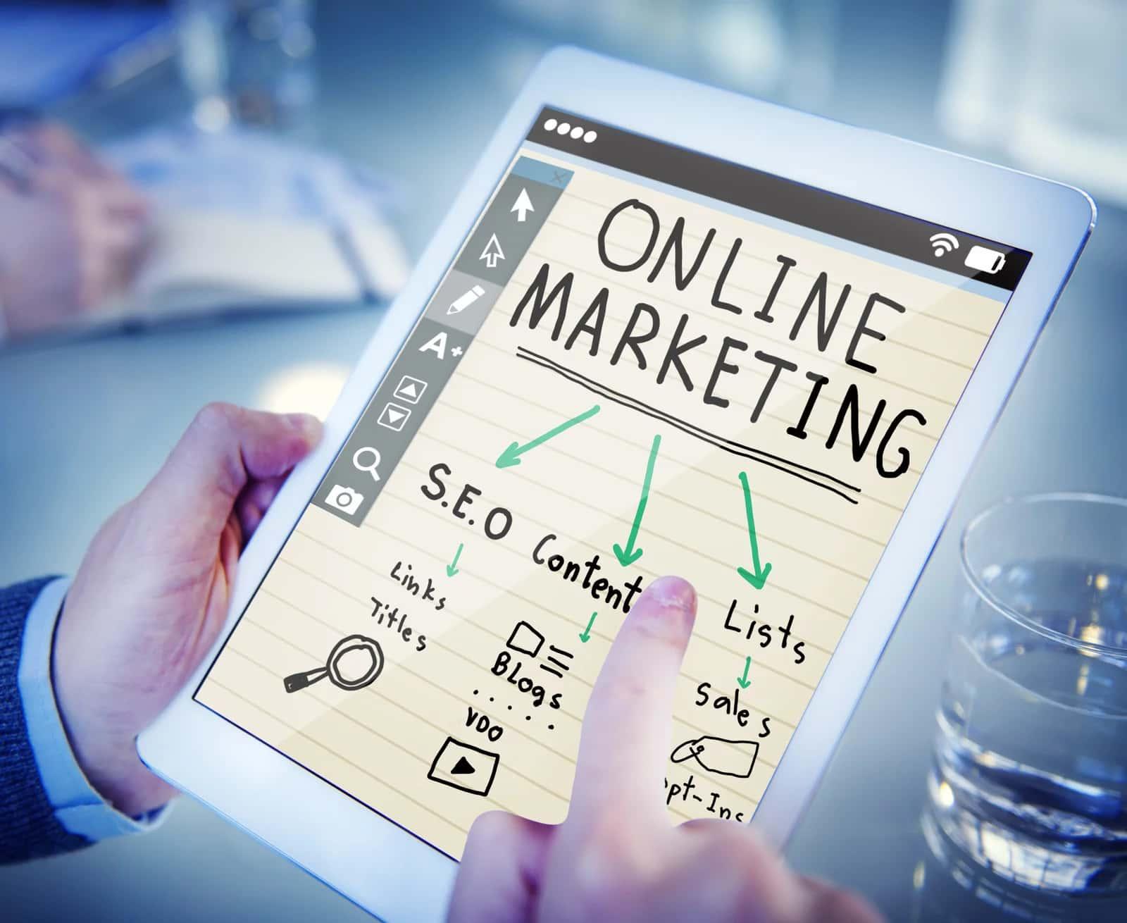 Develop a marketing presence