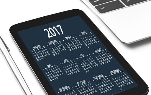 calendars, both digital and paper