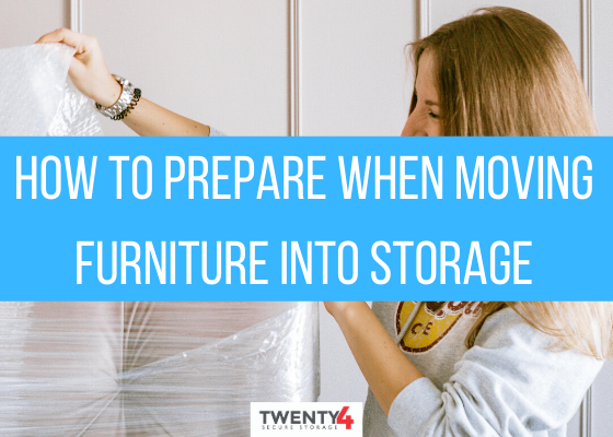 How to Prepare When Moving Furniture into Storage