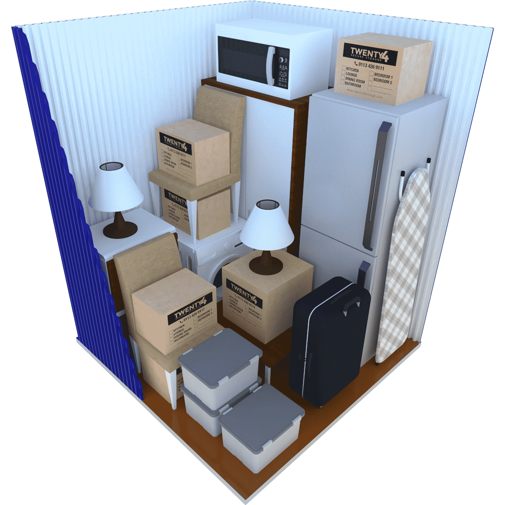 35 Sq ft Container