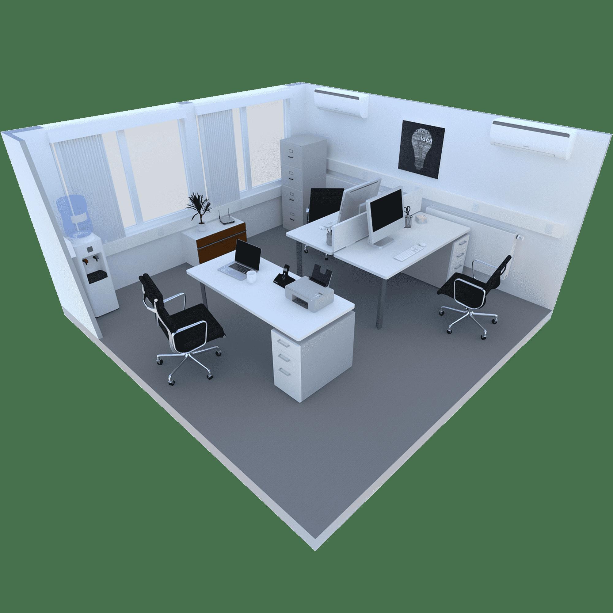 200 Sq ft Room