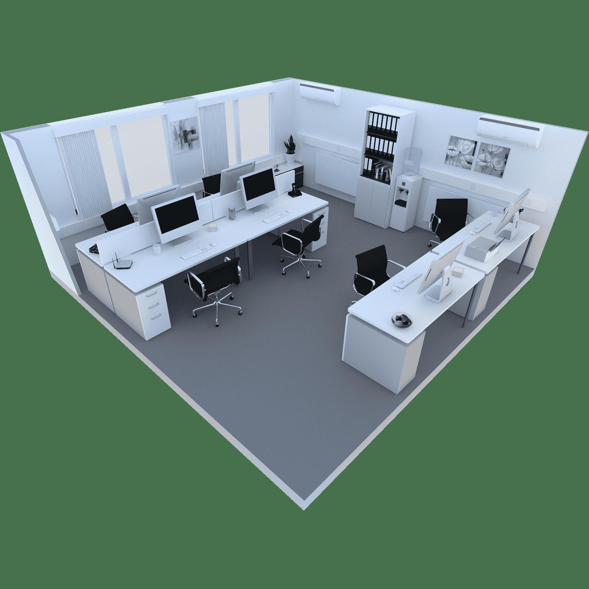 300 Sq ft Room