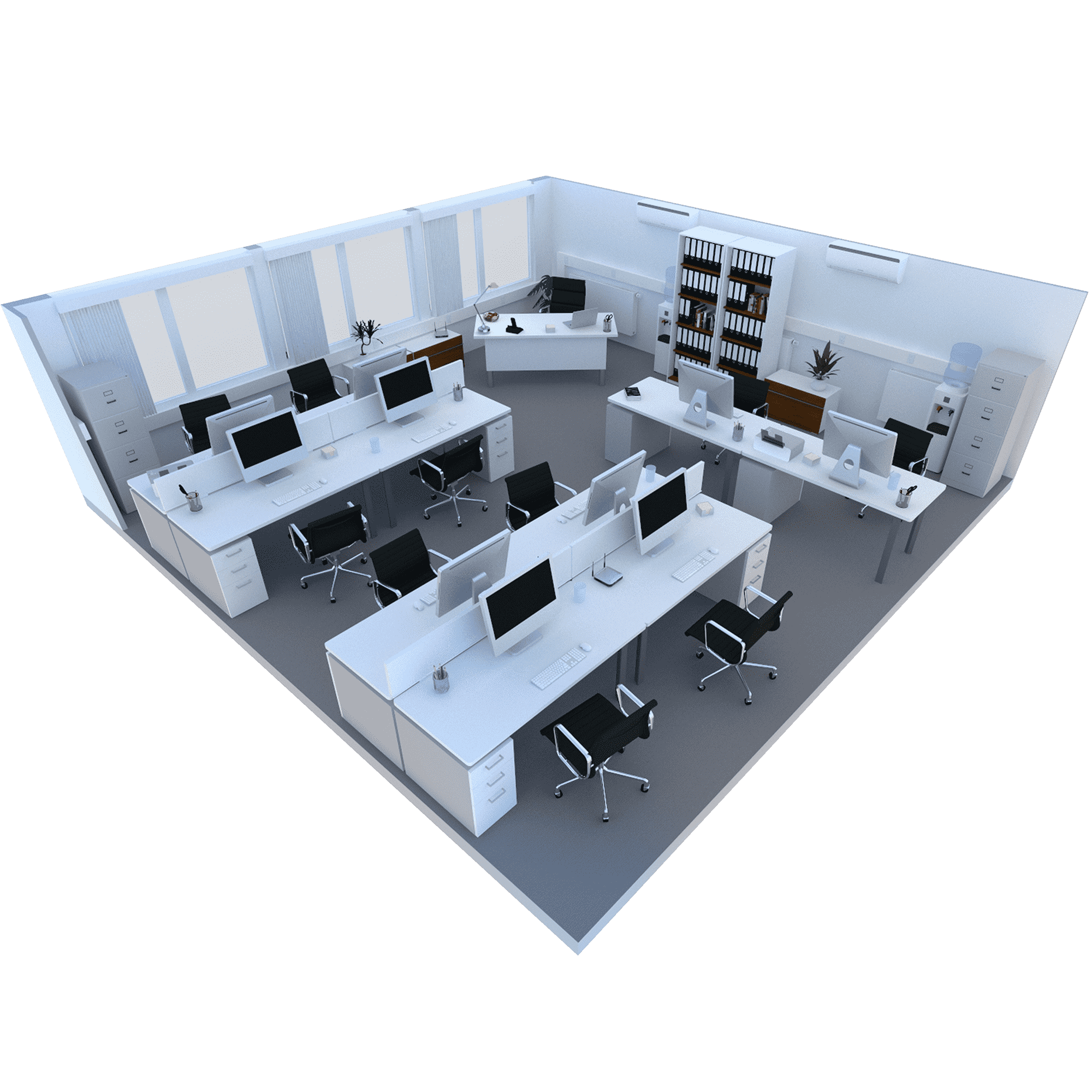 550 Sq ft Room